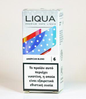 liqua american blend υγρα αναπληρωσης