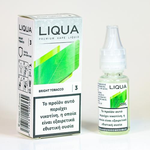 liqua bright tobacco υγρα αναπληρωσης