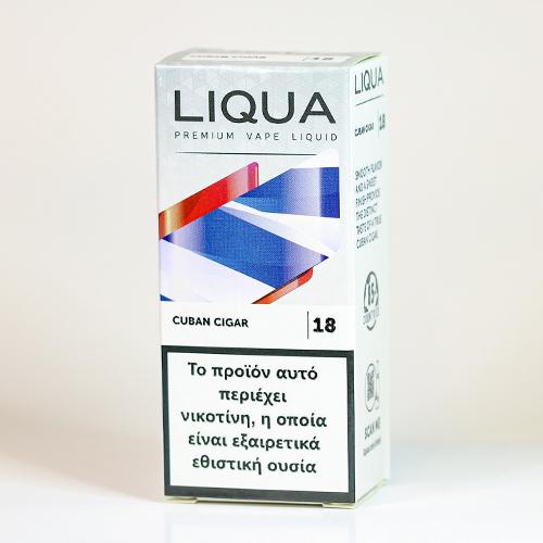 liqua cuban cigar υγρα αναπληρωσης