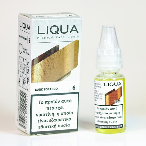 liqua dark tobacco υγρα αναπληρωσης