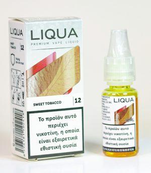 liqua sweet tobacco υγρα αναπληρωσης