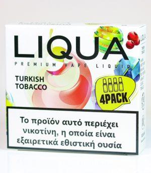 liqua 4pack turkish tobacco υγρα αναπληρωσης