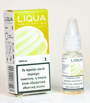 liqua vanilla υγρα αναπληρωσης